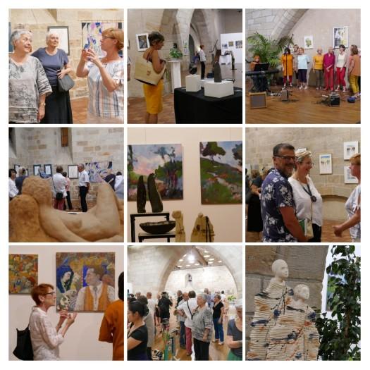 exposition peinture sculpture association plurielles 2019